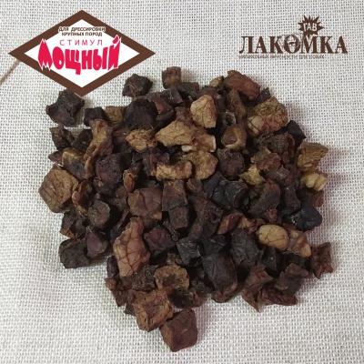 ДРЕССИРОВКА: Мощный стимул для крупных пород / легкое микс говяд-баран / фракция 1-2 см / 0,5 кг